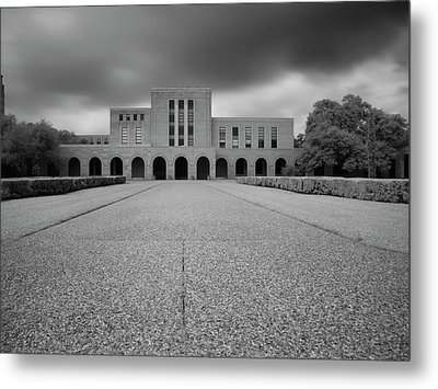 Metal Print featuring the photograph Fondren Library  by Joshua House
