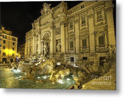 Fontana Di Trevi 1.0 Metal Print