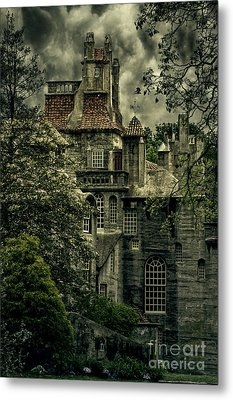 Fonthill With Storm Clouds Metal Print