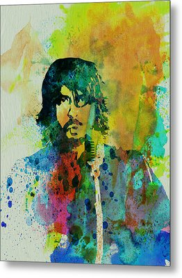Foo Fighters Metal Print by Naxart Studio