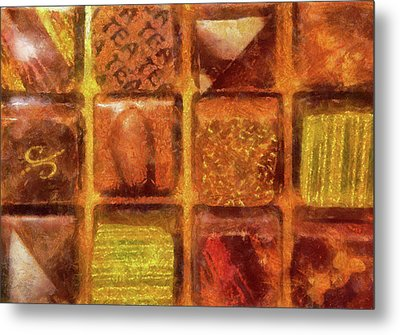 Food - Candy - Excellent Chocolates Metal Print by Mike Savad