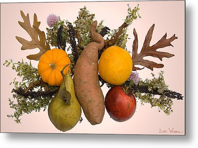 Food Bouquet Metal Print by Lise Winne