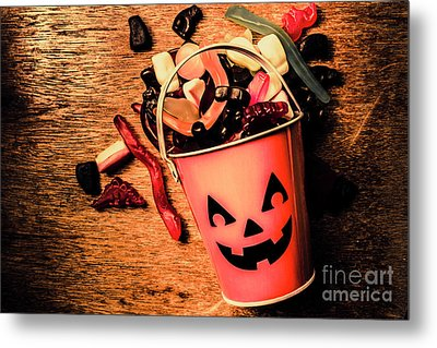 Food For The Little Halloween Spooks Metal Print by Jorgo Photography - Wall Art Gallery