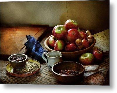 Food - Fruit - Ready For Breakfast Metal Print by Mike Savad