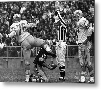 Football Game, 1965 Metal Print by Granger
