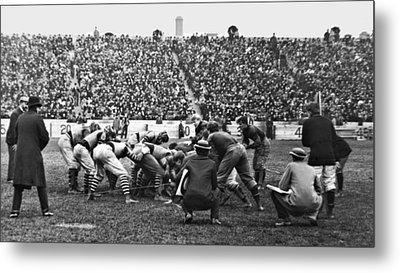 Football Game University Of Pennsylvania Vs Lafayette University C 1896 Metal Print by A Gurmankin