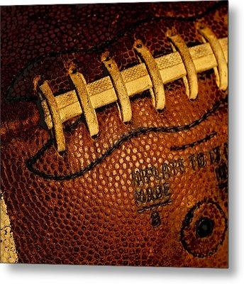 Football - The Gridiron Tool Metal Print by David Patterson