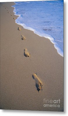 Footprints Metal Print by Don King - Printscapes