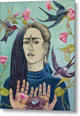 For Frida Metal Print