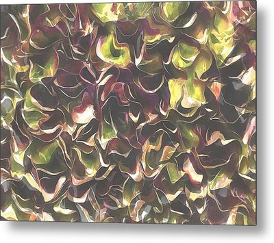 For The Love Of Autumn Metal Print by Tracey Harrington-Simpson