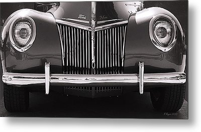 Ford Delux Metal Print by Melisa Meyers