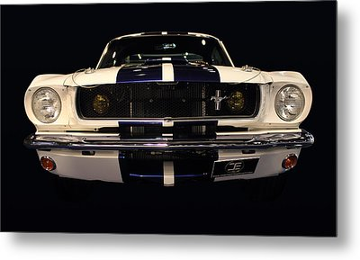 Ford Front Vew Metal Print