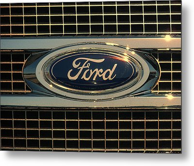 Ford Metal Print by Kathy Clark