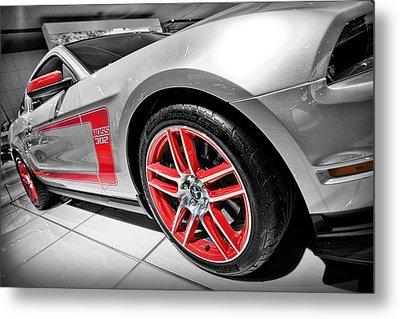 Ford Mustang Boss 302 Metal Print