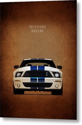 Ford Mustang Shelby 06 Metal Print