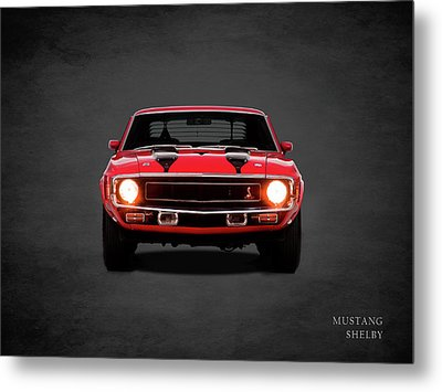 Ford Mustang Shelby 69 Metal Print by Mark Rogan