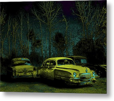 Ford-o-matic And Friends Metal Print by David A Brown