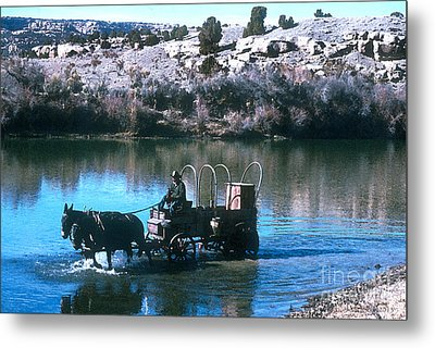 Ford The River Metal Print by Jerry McElroy
