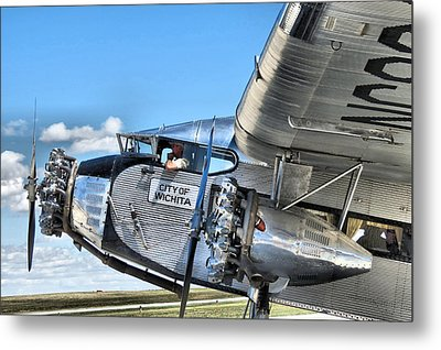 Ford Trimotor Metal Print by Michael Daniels