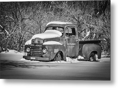 Ford Truck 2016-1  Metal Print by Thomas Young