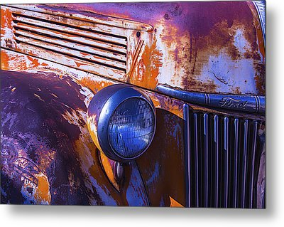 Ford Truck Metal Print by Garry Gay