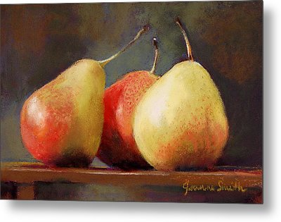 Forelle Trio Metal Print by Jeanne Rosier Smith