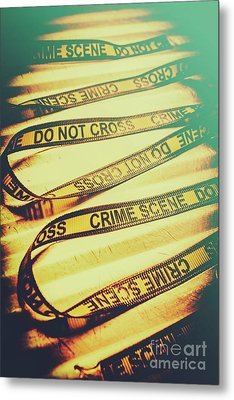 Forensic Csi Lab Details Metal Print by Jorgo Photography - Wall Art Gallery