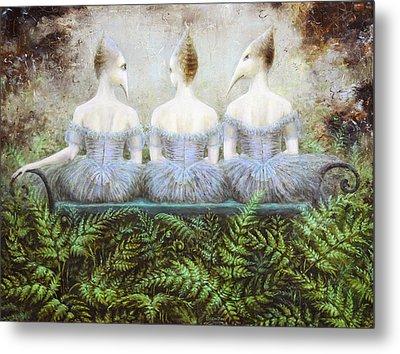 Forest Divas Metal Print by Lolita Bronzini