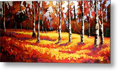 Forest Edge Metal Print