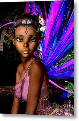 Forest Fairy Metal Print by Alexander Butler
