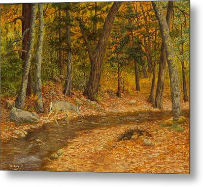 Forest Life Metal Print