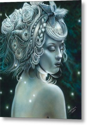 Forest Nymph Metal Print
