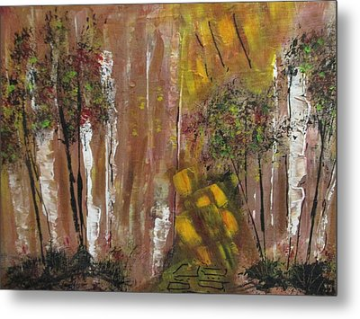 Forest Primeval Metal Print by Sharyn Winters