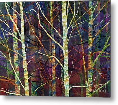 Forest Rhythm Metal Print by Hailey E Herrera