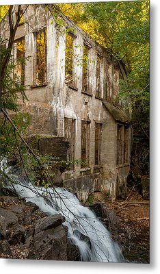Forest Ruin Metal Print by Chris Holmes