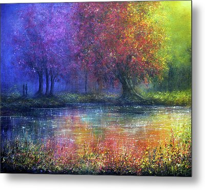 Forever Metal Print by Ann Marie Bone