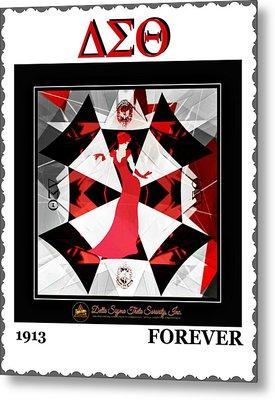 Forever Delta  Metal Print by Lynda Payton