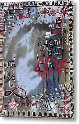 Forever Stamp Metal Print by Robert Wolverton Jr