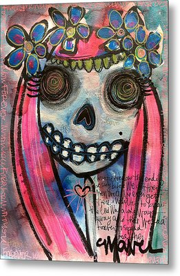 Metal Print featuring the painting Forever With You by Laurie Maves ART