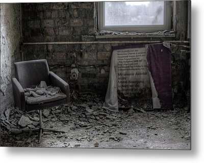 Forgotten Ideologies Metal Print by Nathan Wright