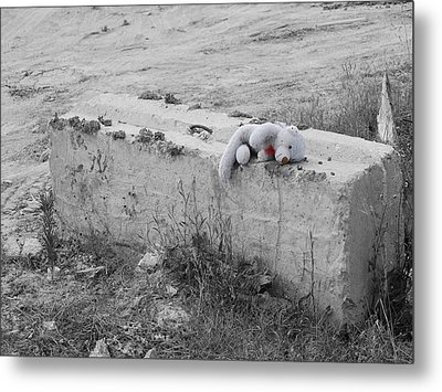 Metal Print featuring the photograph Forgotten by Maggy Marsh