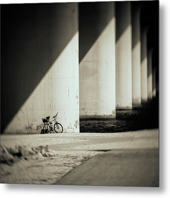 Forgotten Metal Print by Mario Celzner