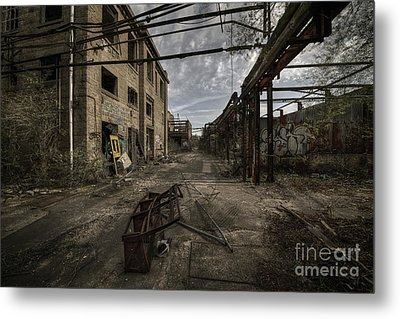 Forgotten Place Metal Print by Svetlana Sewell