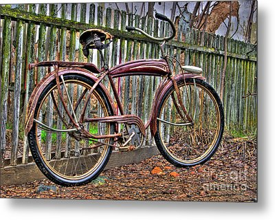 Metal Print featuring the photograph Forgotten Ride 1 by Jim and Emily Bush