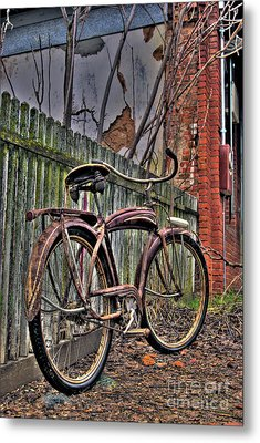 Metal Print featuring the photograph Forgotten Ride 2 by Jim and Emily Bush