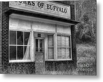 Forks Of Buffalo Metal Print by Pete Hellmann