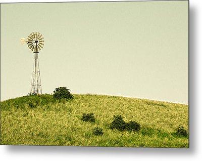 Forlorn Windmill Metal Print by Todd Klassy