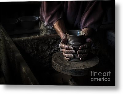 Formed With Love Metal Print by Scott Thorp