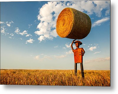 Formidable Farmer Metal Print by Todd Klassy