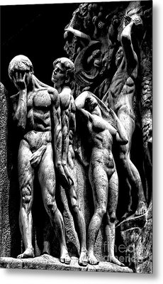 Metal Print featuring the photograph Forms In Marble by Paul W Faust - Impressions of Light